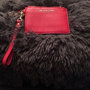 MICHAEL Michael Kors Bags - A Bright Red Keychain or coin purse